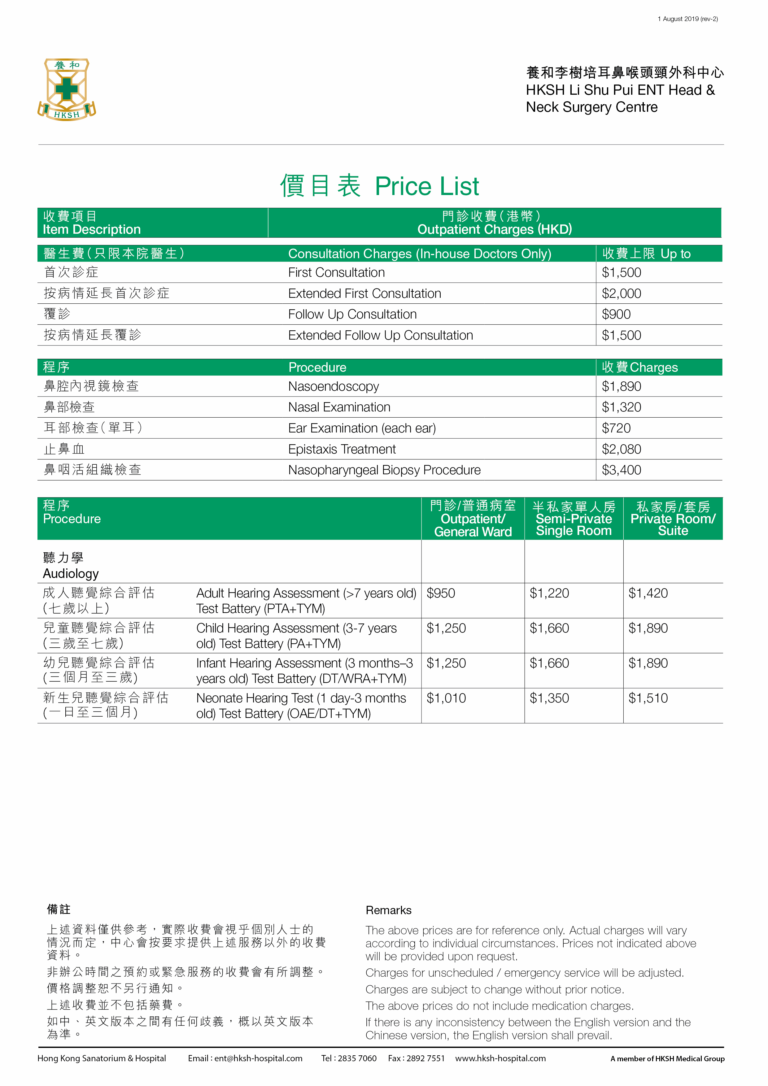 Li Shu Pui ENT Head and Neck Surgery Centre